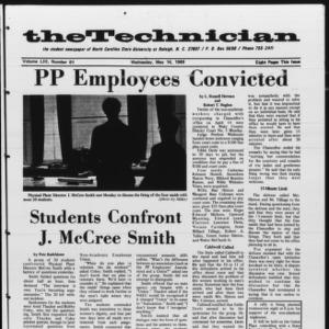 Technician, Vol. 53 No. 81 [Vol. 49 No. 81], May 14, 1969