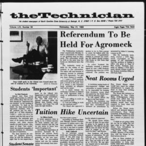 Technician, Vol. 53 No. 84 [Vol. 49 No. 84], May 21, 1969