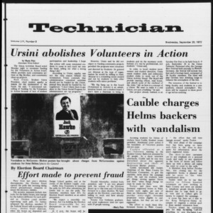 Technician, Vol. 53 No. 9, September 20, 1972