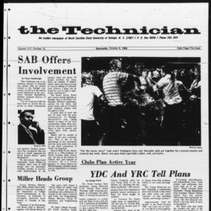 Technician, Vol. 54 No. 10 [Vol. 50 No. 10], October 8, 1969