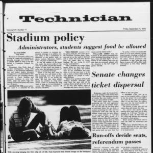 Technician, Vol. 54 No. 11, September 21, 1973