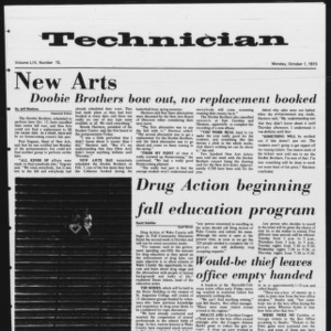 Technician, Vol. 54 No. 15, October 1, 1973