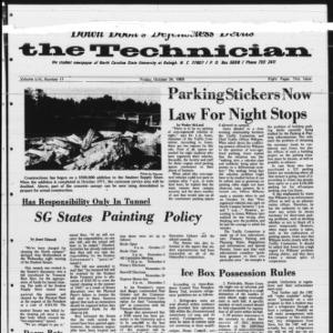 Technician, Vol. 54 No. 17 [Vol. 50 No. 17], October 24, 1969