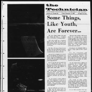 Technician, Vol. 54 No. 26 [Vol. 50 No. 26], November 14, 1969