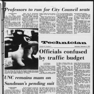 Technician, Vol. 54 No. 4, September 5, 1973