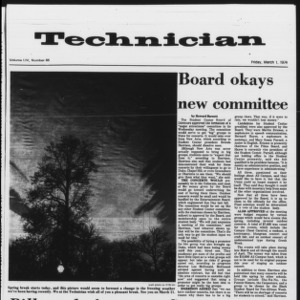 Technician, Vol. 54 No. 65, March 1, 1974