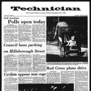 Technician, Vol. 55 No. 10, September 18, 1974