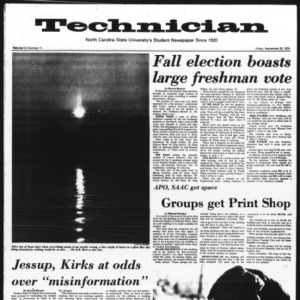 Technician, Vol. 55 No. 11, September 20, 1974