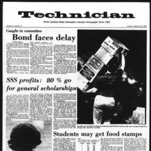 Technician, Vol. 55 No. 12, September 23, 1974