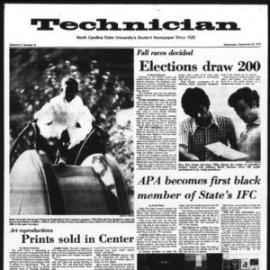 Technician, Vol. 55 No. 13, September 25, 1974