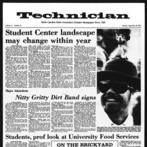 Technician, Vol. 55 No. 15, September 30, 1974