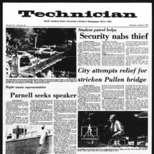 Technician, Vol. 55 No. 16, October 2, 1974