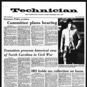 Technician, Vol. 55 No. 17, October 4, 1974