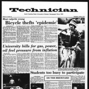 Technician, Vol. 55 No. 19, October 9, 1974