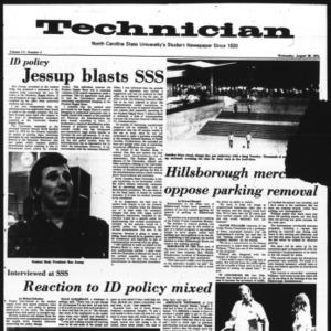 Technician, Vol. 55 No. 2, August 28, 1974