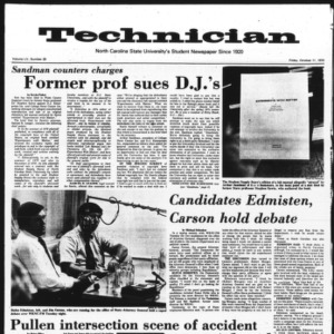 Technician, Vol. 55 No. 20, October 11, 1974