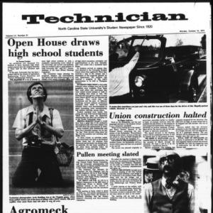 Technician, Vol. 55 No. 21, October 14, 1974