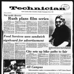 Technician, Vol. 55 No. 26 [23], October 25, 1974