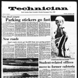 Technician, Vol. 55 No. 4, September 4, 1974