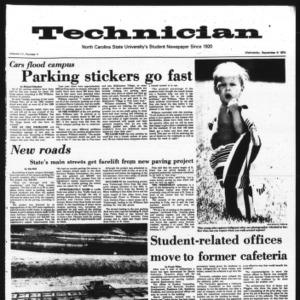 Technician, Vol. 55 No. 4, September 4, 1974