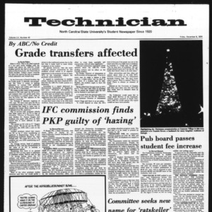 Technician, Vol. 55 No. 42 [39], December 6, 1974