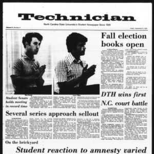 Technician, Vol. 55 No. 5, September 6, 1974