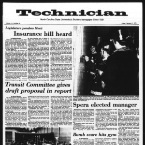 Technician, Vol. 55 No. 54 [51], February 7, 1975