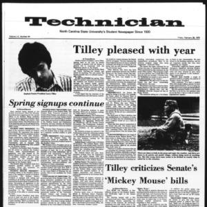 Technician, Vol. 55 No. 64 [60], February 28, 1975