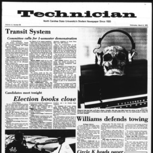 Technician, Vol. 55 No. 66 [62], March 5, 1975
