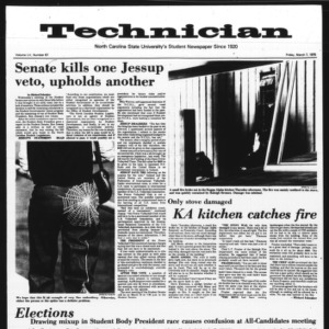 Technician, Vol. 55 No. 67 [63], March 7, 1975