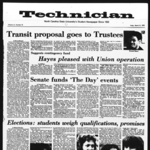 Technician, Vol. 55 No. 70 [65], March 21, 1975