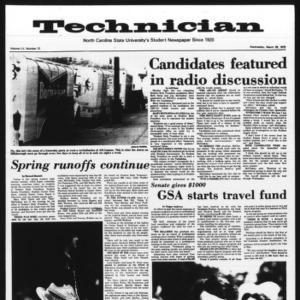Technician, Vol. 55 No. 72 [67], March 26, 1975