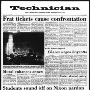 Technician, Vol. 55 No. 8, September 13, 1974