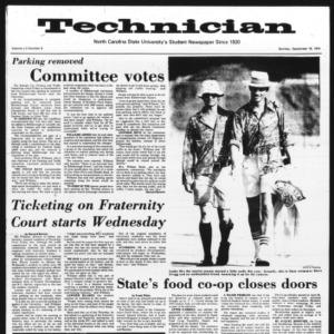 Technician, Vol. 55 No. 9, September 16, 1974