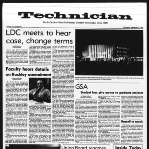 Technician, Vol. 56 No. 10, September 17, 1975