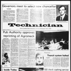 Technician, Vol. 56 No. 14, September 26, 1975