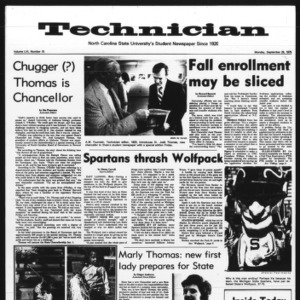 Technician, Vol. 56 No. 15, September 29, 1975