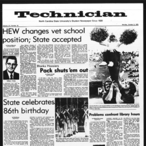 Technician, Vol. 56 No. 18, October 6, 1975