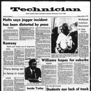 Technician, Vol. 56 No. 21, October 13, 1975