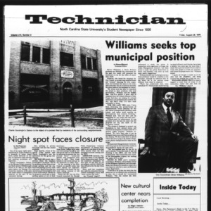 Technician, Vol. 56 No. 3, August 29, 1975