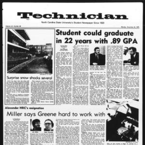 Technician, Vol. 56 No. 39, November 24, 1975