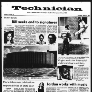 Technician, Vol. 56 No. 46, January 21, 1976