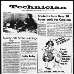Technician, Vol. 56 No. 57, February 16, 1976