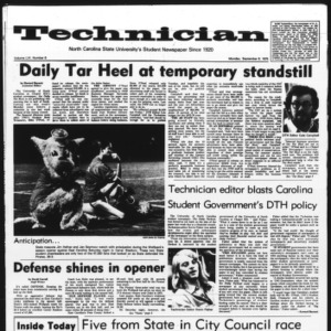 Technician, Vol. 56 No. 6, September 8, 1975
