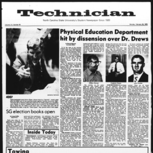 Technician, Vol. 56 No. 60, February 23, 1976
