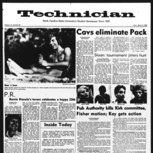 Technician, Vol. 56 No. 65, March 5, 1976