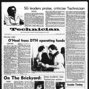Technician, Vol. 56 No. 7, September 10, 1975
