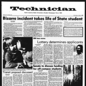 Technician, Vol. 56 No. 75, April 7, 1976