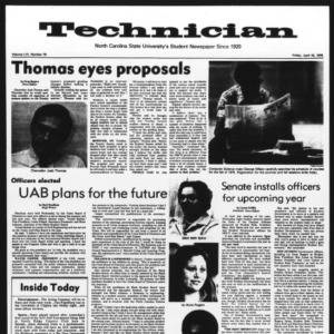 Technician, Vol. 56 No. 79, April 16, 1976