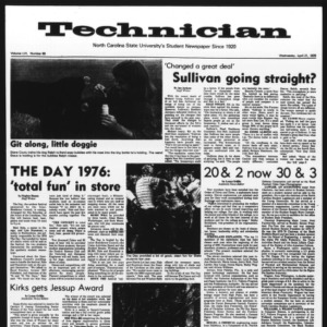 Technician, Vol. 56 No. 80, April 21, 1976